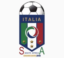 italy world cup soccer 2010 by redboy