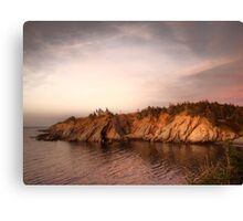 Smuggler's Cove Sunset Canvas Print