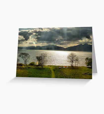 Loch Linnhe  Greeting Card