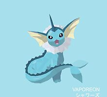 Vaporeon Low Poly by meowzilla