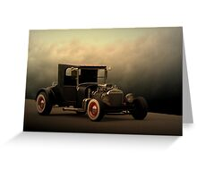 "1923 Ford ""The High Topper Bucket"" Greeting Card"
