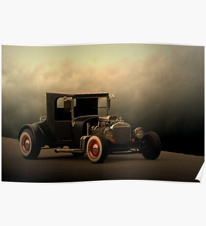 """1923 Ford """"The High Topper Bucket"""" Poster"""