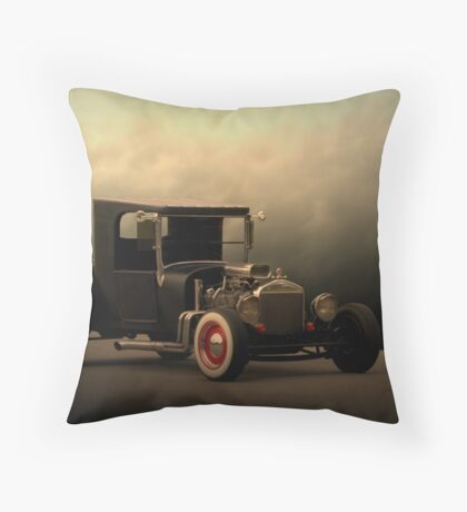 """1923 Ford """"The High Topper Bucket"""" Throw Pillow"""