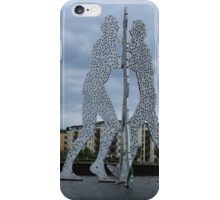 Molecule Man iPhone Case/Skin