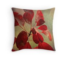 Ablaze with Life Throw Pillow