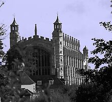 Eton College Chapel ( A View) by Andrew  Bailey