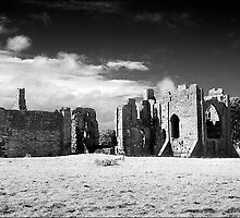 Lindisfarne Priory by Chas Bedford