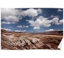 Barren Expanse - Drumheller, AB Poster