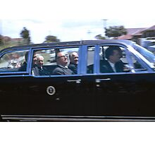 A President, Prime Minister and Premier,Sydney, NSW., Australia (1966) Photographic Print