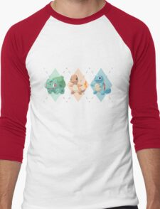 Pokemon Low Poly - 1st Gen Starters T-Shirt