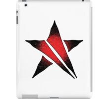 The Shattered Star (Red Alt 2) iPad Case/Skin