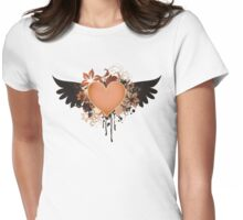 Flo-Wings Womens Fitted T-Shirt