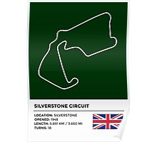 Silverstone Circuit - v2 Poster