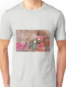 Even Squirrels Stop to Smell the Flowers #2 Unisex T-Shirt