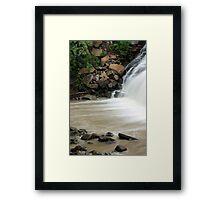 Down Mill Creek Framed Print
