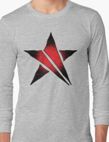 The Shattered Star (Red Alt 2) Long Sleeve T-Shirt