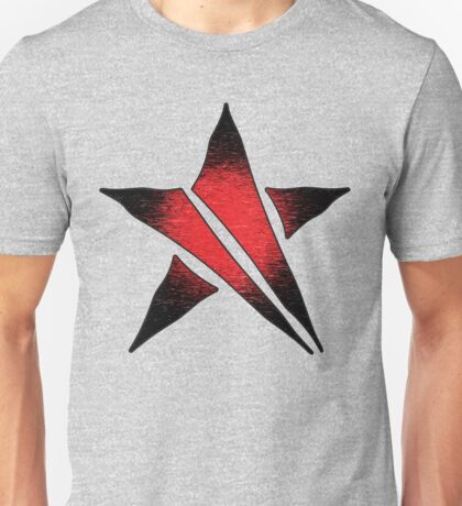 The Shattered Star (Red Alt 2) Unisex T-Shirt