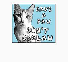 Don't Declaw  Men's Baseball ¾ T-Shirt