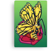 Flutter-Bee Canvas Print