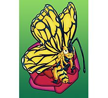 Flutter-Bee Photographic Print