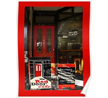 The Red Door Cafe Poster