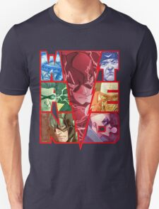 Run and Hide in Central City T-Shirt