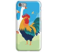 Barnyard show off iPhone Case/Skin