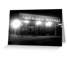 Farmers Market 2 Greeting Card