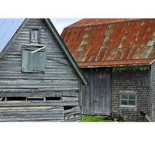 Barns,barns,barns Photographic Print
