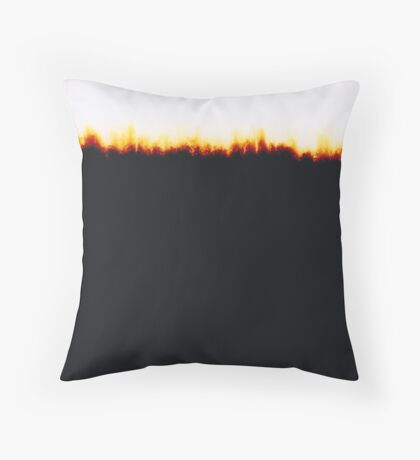 EMULSION TWO Throw Pillow
