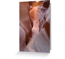 Antelope Slot Canyon, AZ Greeting Card