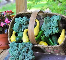 Fresh Garden Veggies by Jeff Ore