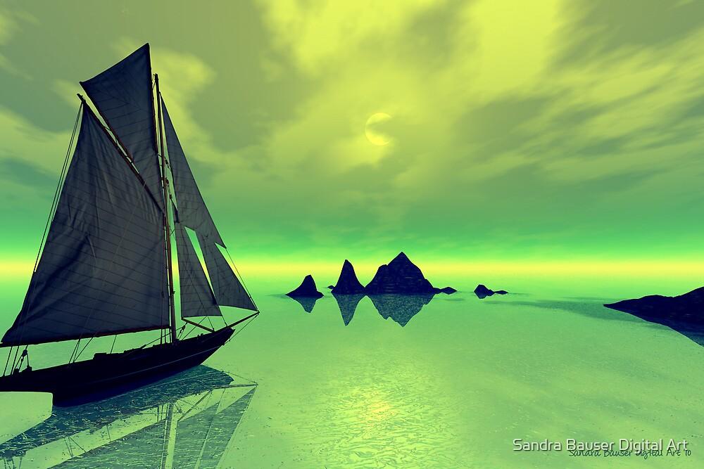 Mysterious Voyage by Sandra Bauser Digital Art