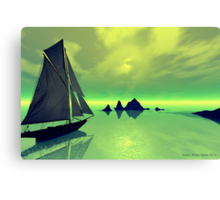 Mysterious Voyage Canvas Print