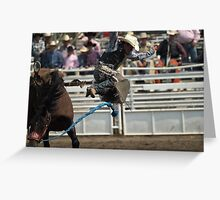 Unscheduled Dismount Greeting Card