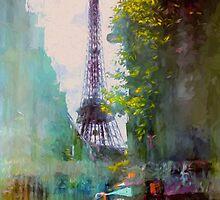 Paris Street by John Rivera