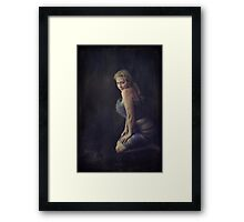 You Bring Me To My Knees Framed Print