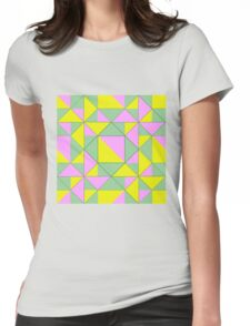 Therefore take the present time Womens Fitted T-Shirt