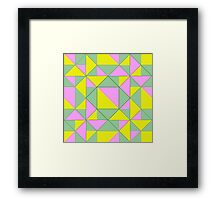 Therefore take the present time Framed Print