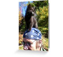 Iddy Biddy Kitty Greeting Card
