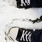 :D my shoes in the snow  by eisblume