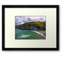 Meat Cove - Cape Breton Framed Print