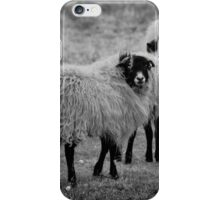 Are you following me iPhone Case/Skin