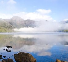 Lifting Mist - Tassie Highlands by Anthony Davey