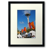 Folklore and the Needle Framed Print