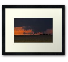 Twister! Framed Print