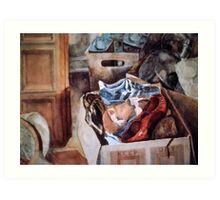 Moving Day Art Print