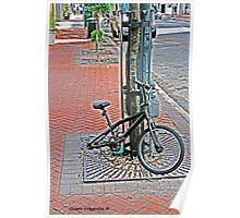 Bike jacked Poster
