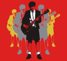 Taking the Lead - Angus Young Baby Tee