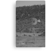 An Old Windmill - The Southern Cross Canvas Print